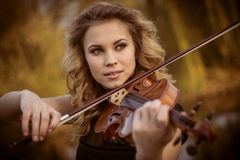 Portrait of musician Royalty Free Stock Photography