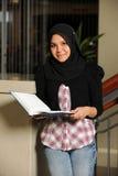 Portrait of Muslim Student royalty free stock photo