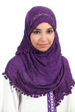 Portrait of a muslim woman Royalty Free Stock Image