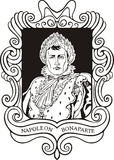 Portrait of Napoleon Bonaparte Royalty Free Stock Photography