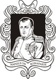 Portrait of Napoleon Bonaparte Royalty Free Stock Photos