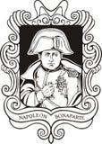 Portrait of Napoleon Bonaparte Stock Photo