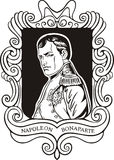 Portrait of Napoleon Bonaparte Royalty Free Stock Images