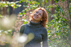 Portrait in nature Stock Photography