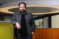 Portrait of Nevzat Aydin Royalty Free Stock Images