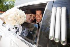 Portrait Of Newlywed Couple Stock Image