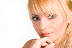 Portrait of a nice girl Stock Photography