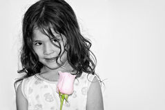 Portrait of the nice Latin American girl Royalty Free Stock Images