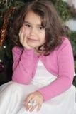 Portrait of nice little girl Stock Photo