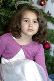 Portrait of nice little girl Royalty Free Stock Images