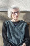 Portrait of a ninety years old grandma Royalty Free Stock Photo