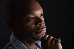 Portrait noir images libres de droits