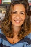 Portrait of Nuria Roca stock photo