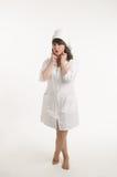 Portrait of the nurse Stock Images
