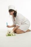Portrait of the nurse Stock Photography