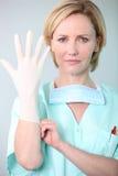 Portrait of a nurse Stock Photography