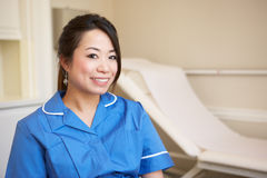 Portrait Of Nurse In Surgery Stock Photography