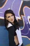 Portrait od a dancer outdoor Stock Photos
