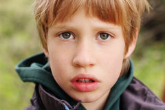 Free Portrait Of 6 Years Old Boy Royalty Free Stock Images - 55783469
