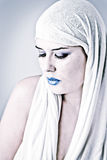 Portrait Of A Beautiful Arabian Girl Royalty Free Stock Photography