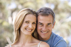 Portrait Of A Couple Royalty Free Stock Image