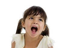 Portrait Of A Cute Happy Girl Royalty Free Stock Photos