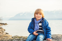 Free Portrait Of A Cute Little Boy Royalty Free Stock Image - 66502906