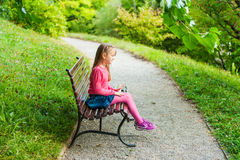 Free Portrait Of A Cute Little Girl Stock Images - 47555794