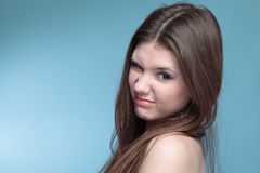 Portrait Of A Girl. Royalty Free Stock Photography