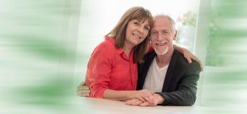 Free Portrait Of A Happy Senior Couple Stock Photography - 117874322