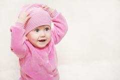 Portrait Of A Little Baby Stock Photography