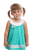 Portrait Of A Little Three Year Old Charming Girl Stock Images