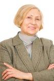 Portrait Of A Senior Woman Stock Image
