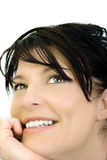 Portrait Of A Smilin Woman Royalty Free Stock Images