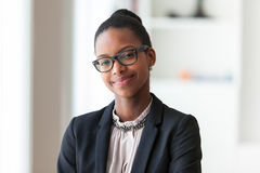 Free Portrait Of A Young African American Business Woman - Black People Royalty Free Stock Photography - 51712687