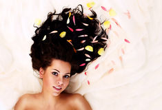 Free Portrait Of A Young Beautiful Brunette Royalty Free Stock Image - 11326646