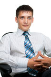 Portrait Of A Young Businessman Stock Photo