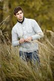 Portrait Of A Young Handsome Man Royalty Free Stock Photos