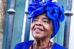 Free Portrait Of African Cuban Woman Smoking Cigar In Havana, Cuba Royalty Free Stock Photography - 58653567