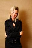 Portrait Of An Elegant Girl Smiling Stock Photography