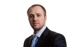 Portrait Of An Unshaven Businessman Stock Photography