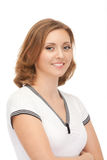 Portrait Of Attractive Smiling Woman Stock Photo