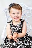 Portrait Of Beautiful Smiling Child Girl Stock Photos
