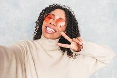 Portrait Of Beautiful Woman Posing In Studio Royalty Free Stock Image