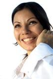Portrait Of Brunette Stock Photos