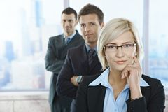 Portrait Of Confident Professionals Royalty Free Stock Photo
