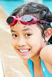 Portrait Of Cute Happy Young Girl Child Royalty Free Stock Photo
