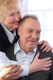 Portrait Of Elderly Pair Royalty Free Stock Photography