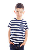 Portrait Of Fashionable Boy Royalty Free Stock Photography