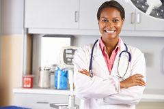 Free Portrait Of Female Doctor In Doctor S Office Stock Photo - 28851960
